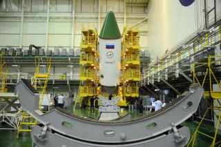Russia's Progress 60 Cargo Spacecraft