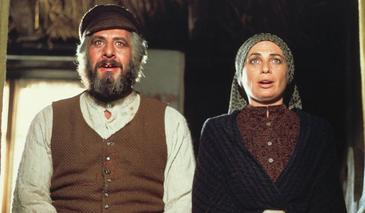Topol and Norma Crane in Fiddler on the Roof