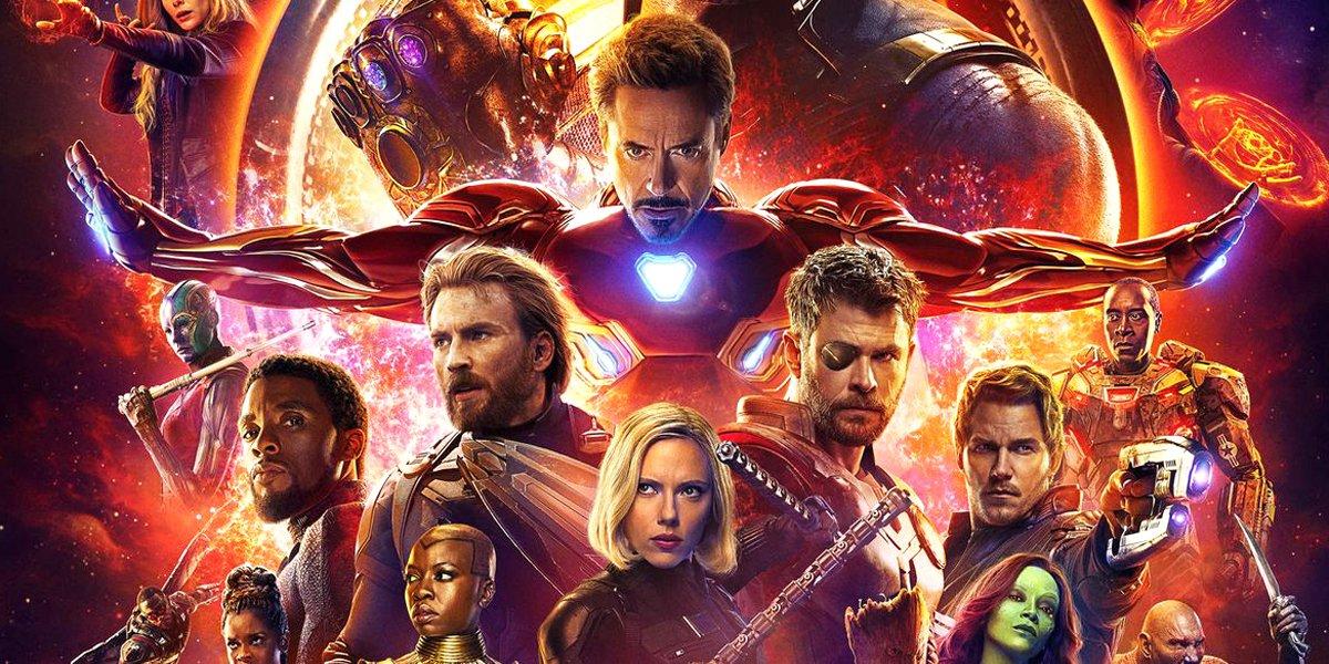 Avengers: Infinity War poster Marvel Studios