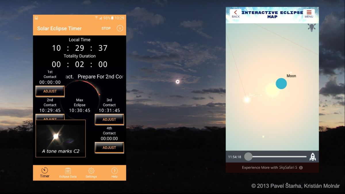 Turn Your Smartphone into an Eclipse Tool Kit with Essential