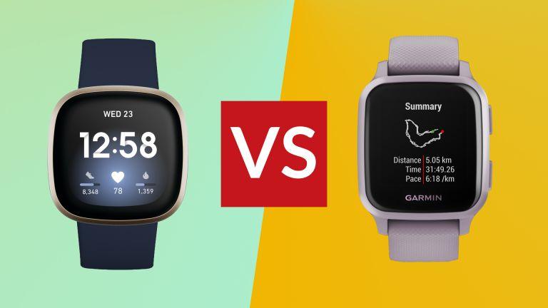 Fitbit Versa 3 vs Garmin Venu Sq