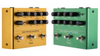 Fender Dual Pugilist and Dual Marine Layer