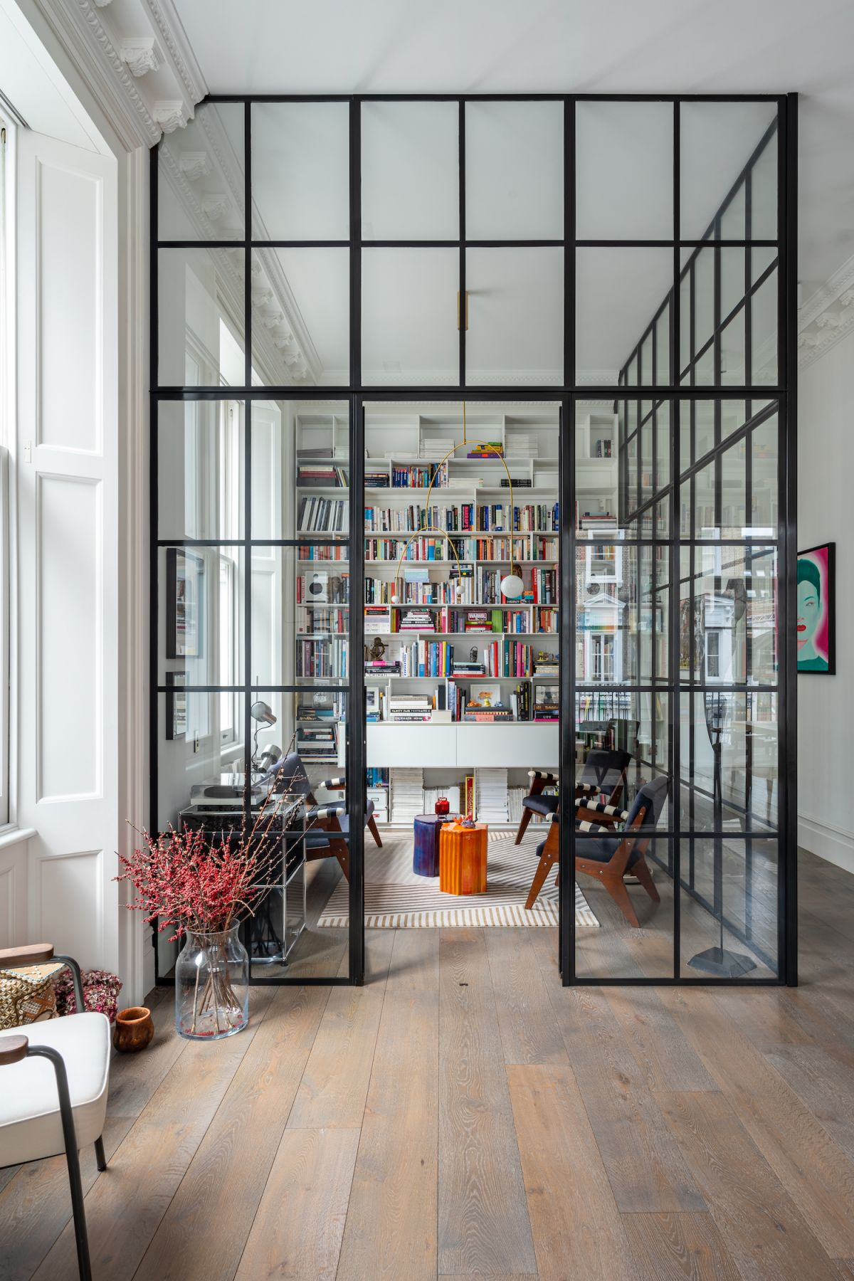 Design Project: A Georgian Home Is Updated With Crittall Doors And A Playful Palette