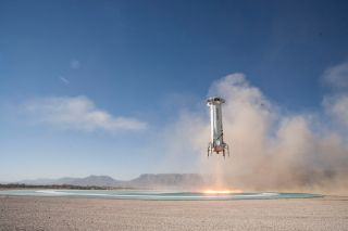 New Shepard Rocket Lands, December 2017