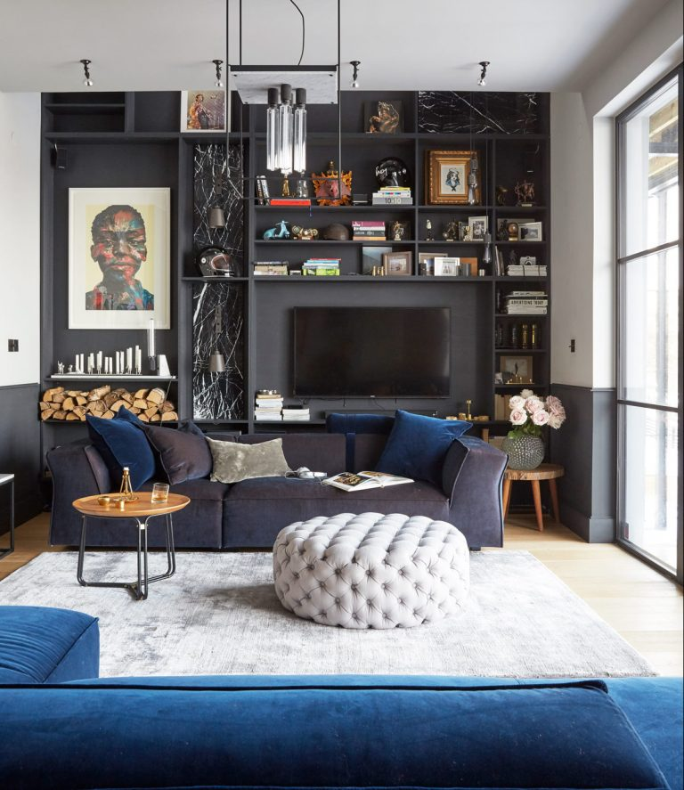 Brilliant Moody And Dramatic Dark Living Room Ideas And Paint Inspiration Caraccident5 Cool Chair Designs And Ideas Caraccident5Info