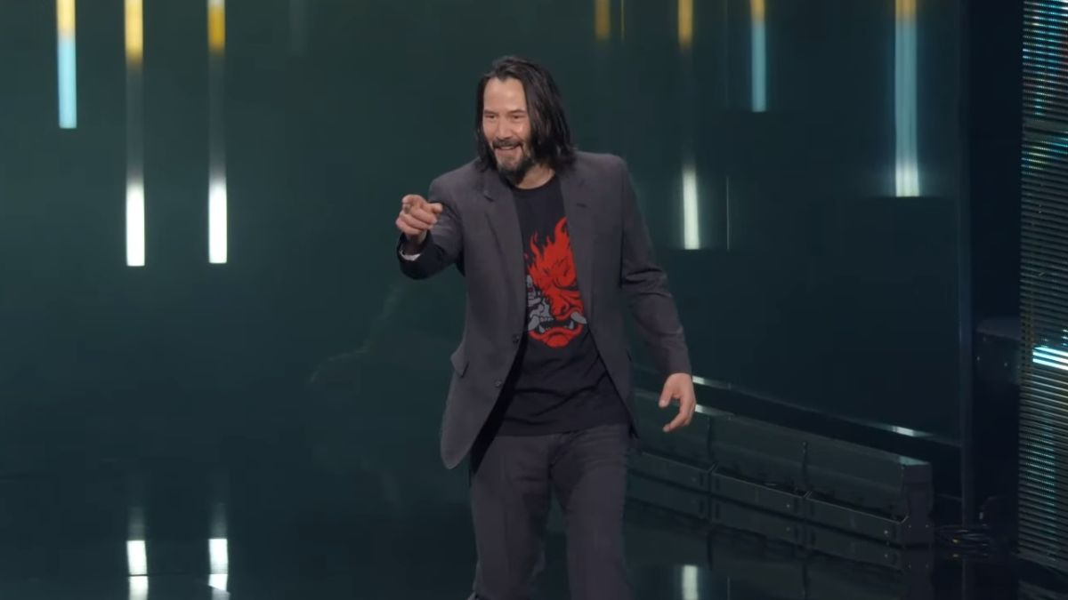 Xbox kept Keanu Reeves' Cyberpunk cameo a surprise with a codename and stand-in