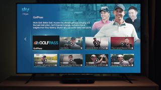 GolfPass app now available on Sky Q – and there's a free trial