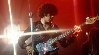 Phil Lynott onstage in 1976