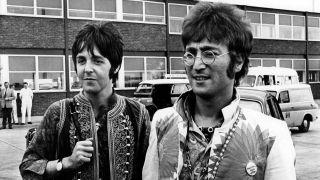 Paul McCartney and John Lennon in the 60s