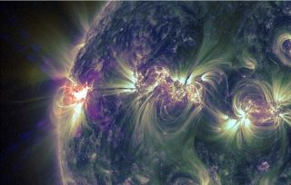 X1 2 Class Flare May 14 2013