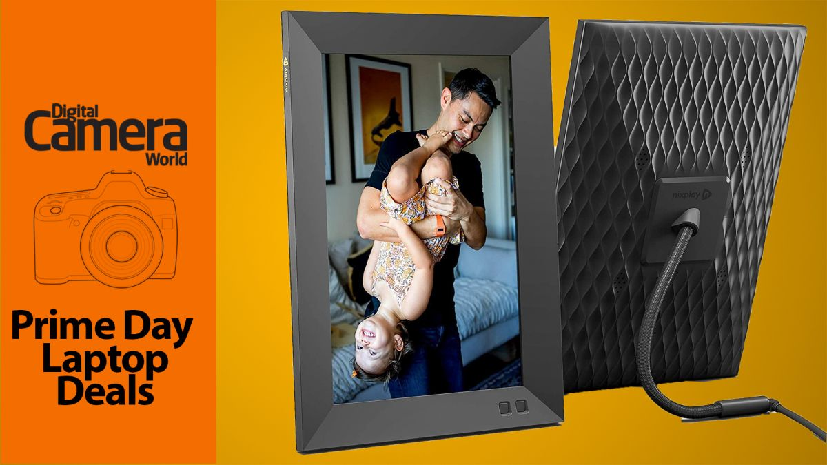 If you don't have a digital photo frame yet, get one today (and you'll thank me)!