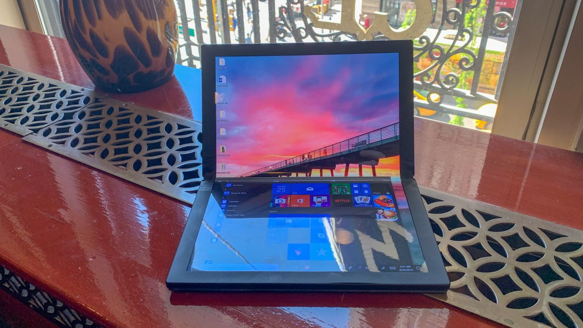 Hands on: Lenovo ThinkPad X1 foldable tablet prototype review