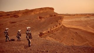 "Scene from ""Mars"" National Geographic miniseries"