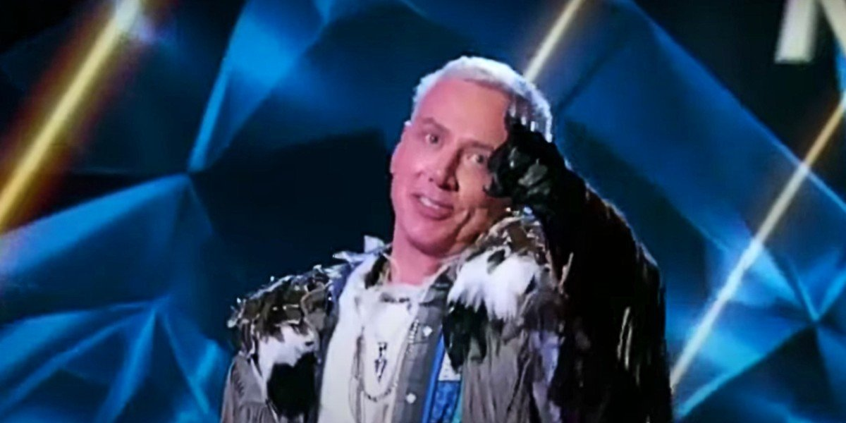 Dr. Drew Pinsky as The Eagle on The Masked Singer