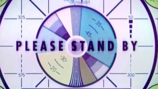 Fallout's famous Please Stand By screenholder