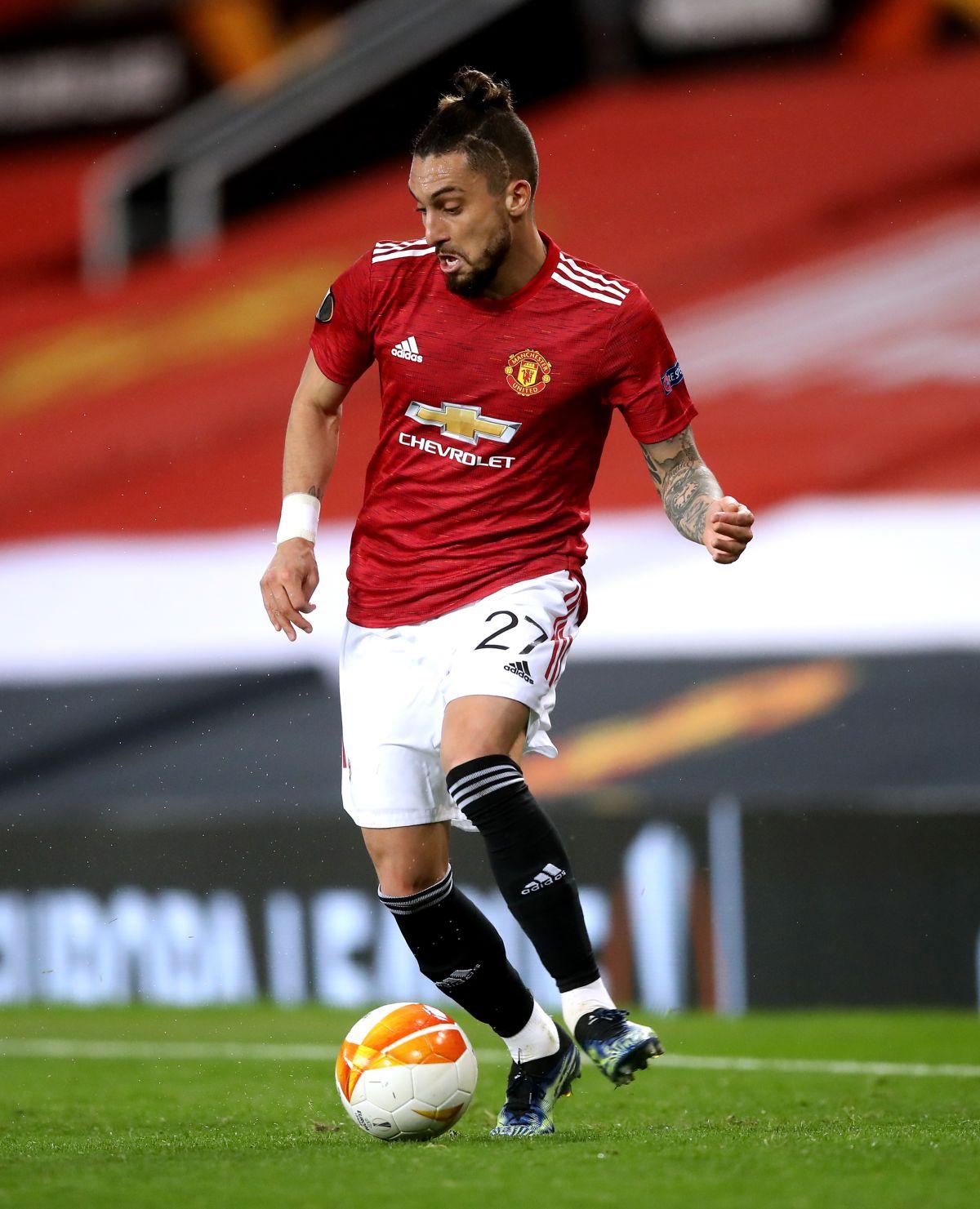 Manchester United defender Alex Telles warns West Ham ahead of cup tie