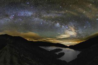 Milky Way Over Azores