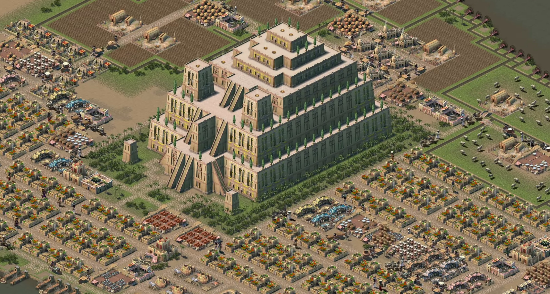 Nebuchadnezzar is a throwback to my favourite city builders of 1000 BC and 1999 AD