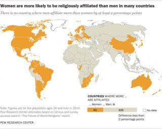 religious affiliation map
