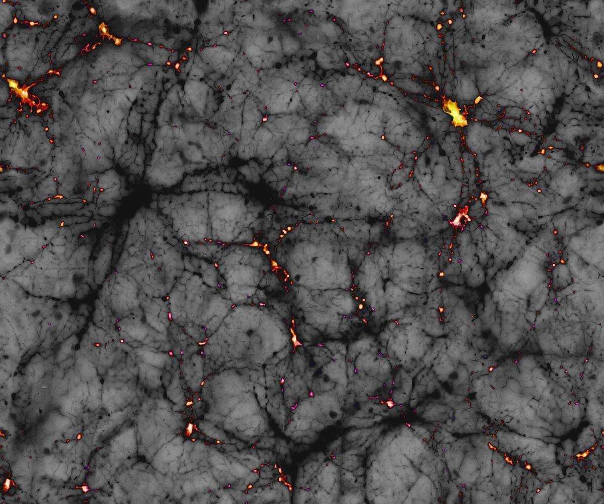 Exotic 'Fuzzy' Dark Matter May Have Created Giant Filaments Across the Early Universe
