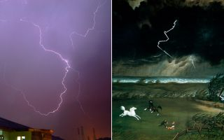 Artists Have Been Drawing Lightning Bolts Wrong for