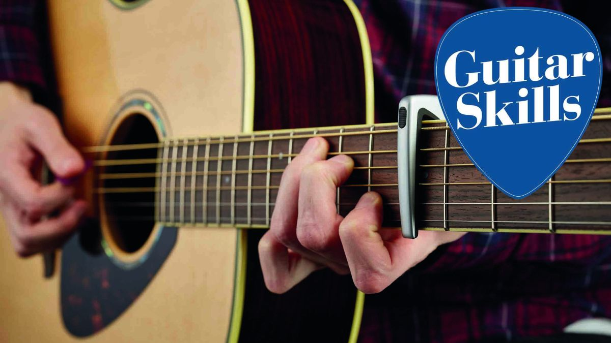 Guitar lesson: How to change the key of any song the easy way