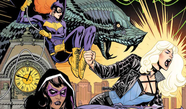 Batgirl Black Canary and Huntress as the Birds of Prey