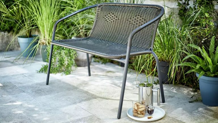 argos garden furniture: wicker chair