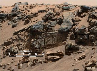 Evidence of an Ancient Martian Lake