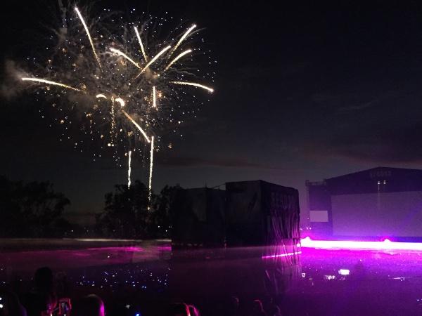 Star Trek fireworks
