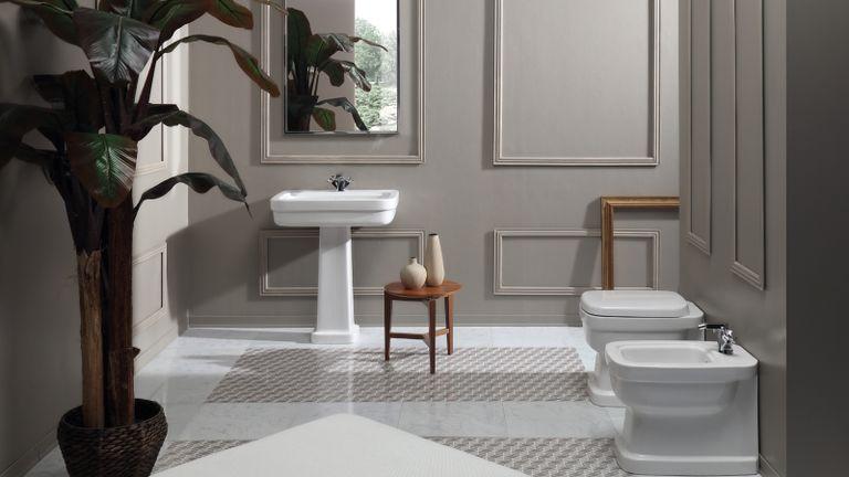 Badezimmer Imperial, Retrobad