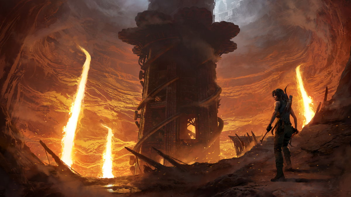Shadow of the Tomb Raider 'The Forge' DLC pits Lara against lava