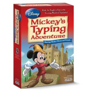 Mickey's Typing Adventure box