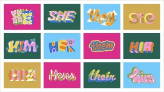 image from the Proud Pronoun Project