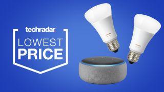 Echo Dot Philips Hue deal sale price