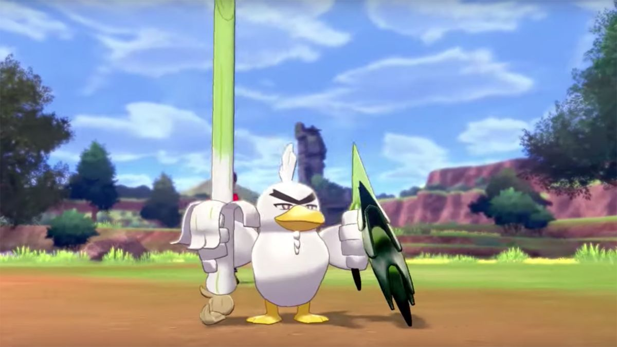 Pokemon Sword and Shield Sirfetch'd revealed, and it's magnificent