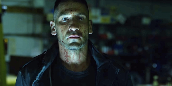 Jon Bernthal as Frank Castle in Season 2 of Daredevil