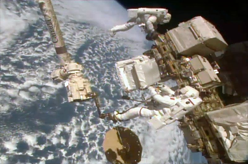 NASA Spacewalk Schedule Squeeze May Delay Repairs on $2 Billion Cosmic Ray Detector