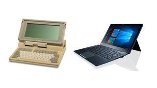 Toshiba T1100 vs Toshiba Portégé X30T-E-13H
