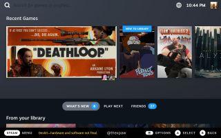 Steam Deck UI on desktop