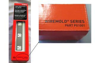 Legrand Wiremold, power strips, recall
