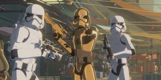 star wars resistance colossus captain phasma disney channel
