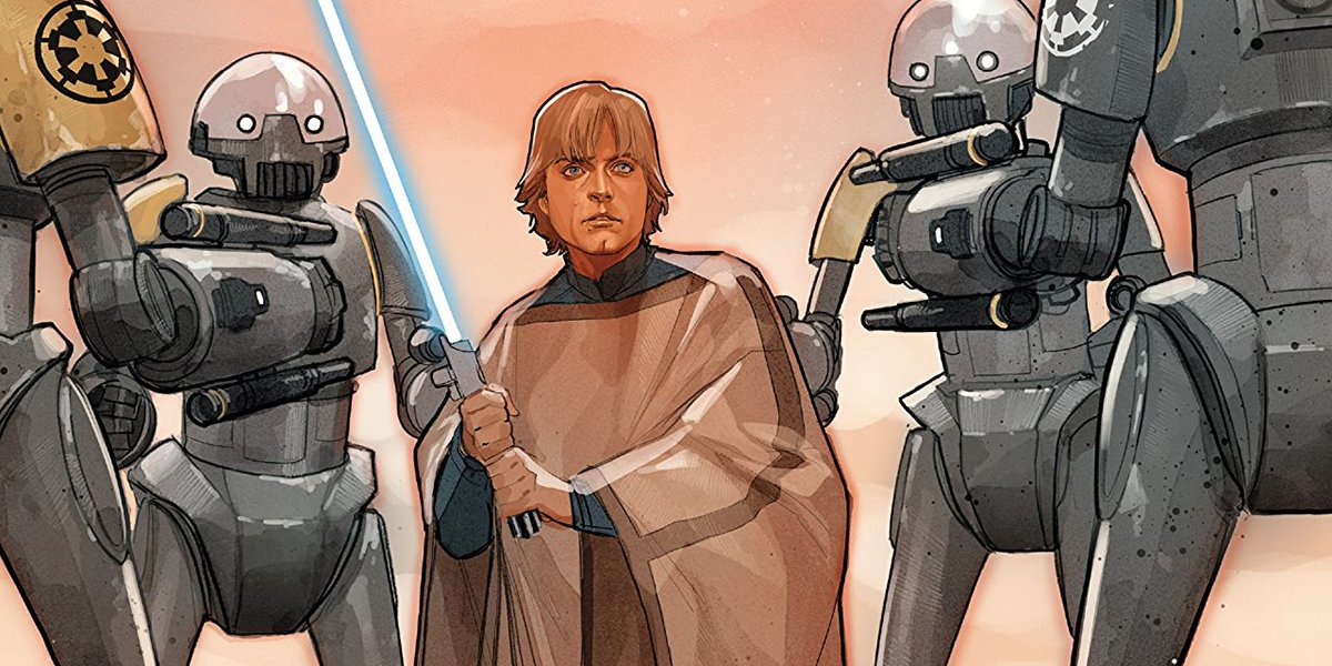 Star Wars Comic Connects Luke Skywalker To Rogue One