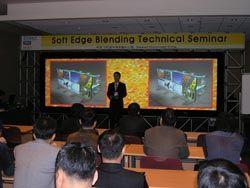 Vista Systems Soft Edge Blending Seminar In Seoul Draws Big Crowds
