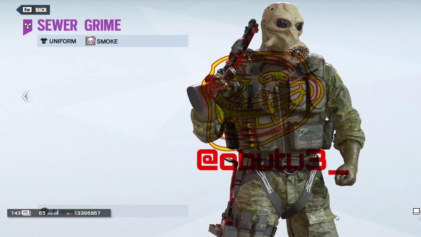 Halloween Skins Rainbow Six Siege 2020 Rainbow Six Siege's Halloween skins appear to have leaked | PC Gamer