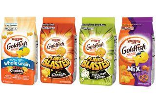 goldfish crackers, pepperidge farm