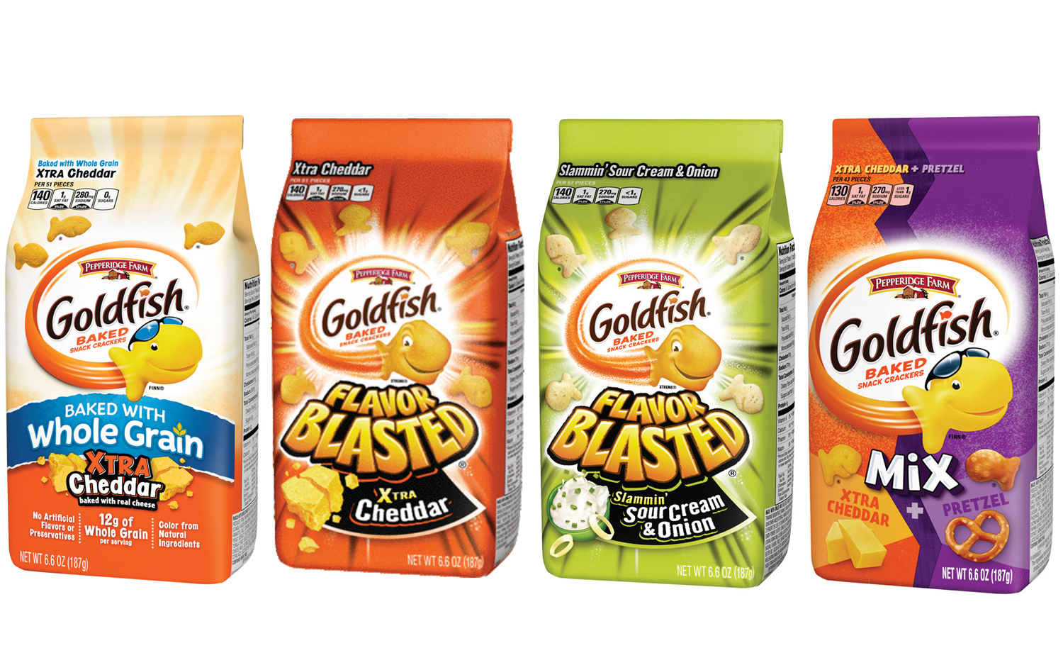 4 Varieties of Goldfish Crackers Recalled for Salmonella