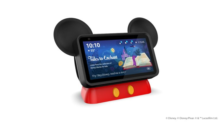 A new stand and special Hey, Disney skill will bring the mouse house to your house