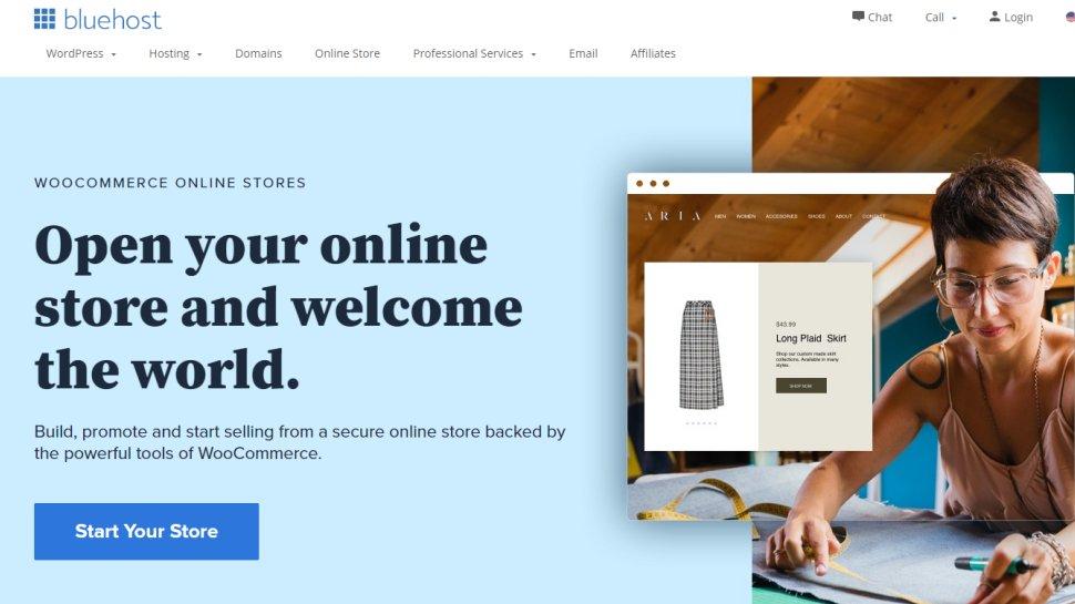 Bluehost + WooCommerce