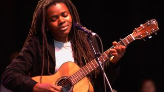 Tracy Chapman Performing at the 15th Annual Bridge Benefit at Shoreline Amphitheater in Mountain View Calif. on October 20th, 2001.